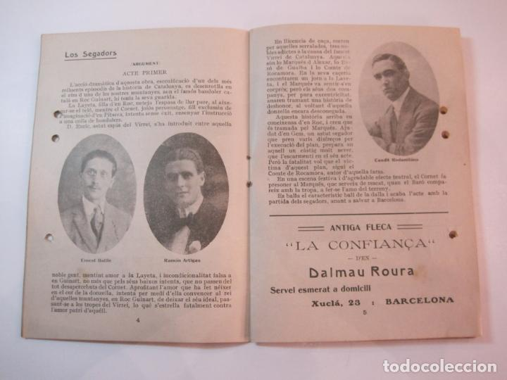Coleccionismo Papel Varios: VIDA CATALANA-PROGRAMA TEMPORADA TEATRAL 1917 1918-VER FOTOS-(K-3719) - Foto 8 - 275944218