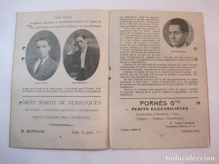 Coleccionismo Papel Varios: VIDA CATALANA-PROGRAMA TEMPORADA TEATRAL 1917 1918-VER FOTOS-(K-3719) - Foto 9 - 275944218
