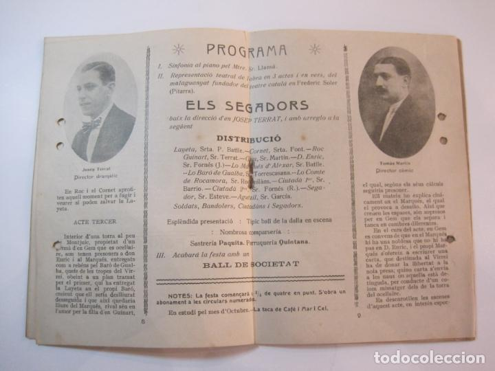 Coleccionismo Papel Varios: VIDA CATALANA-PROGRAMA TEMPORADA TEATRAL 1917 1918-VER FOTOS-(K-3719) - Foto 10 - 275944218