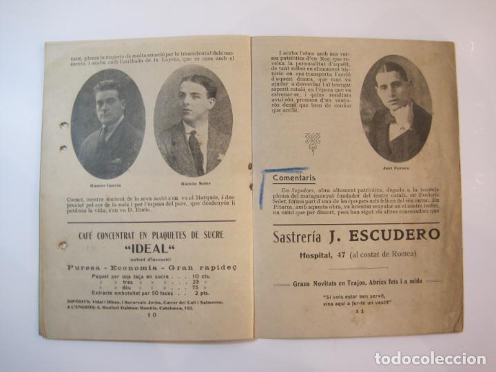Coleccionismo Papel Varios: VIDA CATALANA-PROGRAMA TEMPORADA TEATRAL 1917 1918-VER FOTOS-(K-3719) - Foto 11 - 275944218
