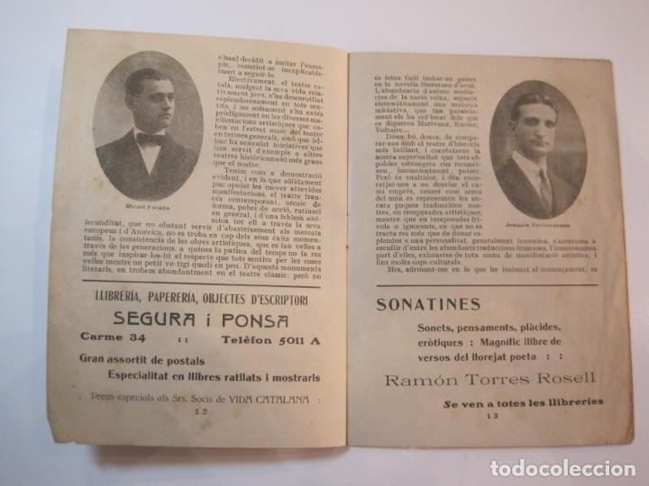 Coleccionismo Papel Varios: VIDA CATALANA-PROGRAMA TEMPORADA TEATRAL 1917 1918-VER FOTOS-(K-3719) - Foto 13 - 275944218