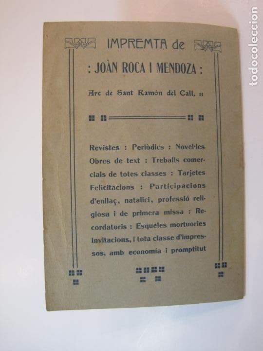 Coleccionismo Papel Varios: VIDA CATALANA-PROGRAMA TEMPORADA TEATRAL 1917 1918-VER FOTOS-(K-3719) - Foto 17 - 275944218
