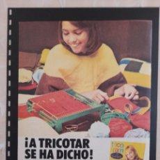 Collectionnisme Papier divers: ANUNCIO PUBLICIDAD AÑOS 70 JUGUETES MUÑECAS SRTA PEPIS. Lote 276036333