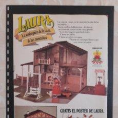 Collectionnisme Papier divers: ANUNCIO PUBLICIDAD AÑOS 70 JUGUETES MUÑECA LAURA TOYSE. Lote 276197668