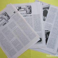 Coleccionismo Papel Varios: HISTORIA DEL FERROCARRIL - CHINA 20 PAGINAS - LEER DESCRIPCION INTERIOR. Lote 276480198