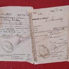 Coleccionismo Papel Varios: LOTE DE 4 GIROS POSTALES. VALENCIA 1917.W. Lote 277159638