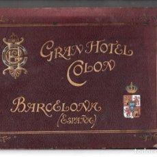 Coleccionismo Papel Varios: BARCELONA. GRAN HOTEL COLON. Lote 277281988