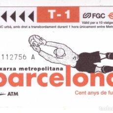 Coleccionismo Papel Varios: BILLETE DE METRO BARCELONA - OFERTAS DOCABO. Lote 277304663