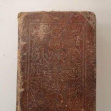 Coleccionismo Papel Varios: LIBRO CAMINO DEL CIELO CONSIDERACIONES PURGATIVAS...PARA CADA DIA DEL MES, ESTEVAN PINELL 1849 BCN. Lote 279344213