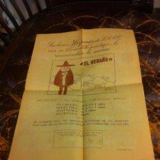 Coleccionismo Papel Varios: HOJA DOS CARAS (LANAS HISPANIA RECOMIENDA LA MARCA EL REBAÑO) REVERSO: CÓMIC PEDRUCHO.... Lote 279529308