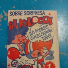 Outros artigos de papel: SOBRE SIN ABRIR SORPRESA A LO LOCO. Lote 287170298