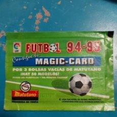 Outros artigos de papel: SOBRE DE CROMOS SIN ABRIR MAGIC CARD MATUTANO FUTBOL 94 95. Lote 287171928
