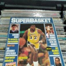 Collectionnisme Papier divers: REVISTA SUPERBASKET 11 ENERO 1987. Lote 287358833
