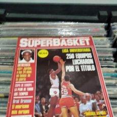 Collectionnisme Papier divers: REVISTA SUPERBASKET 15 MAYO 1987. Lote 287359433