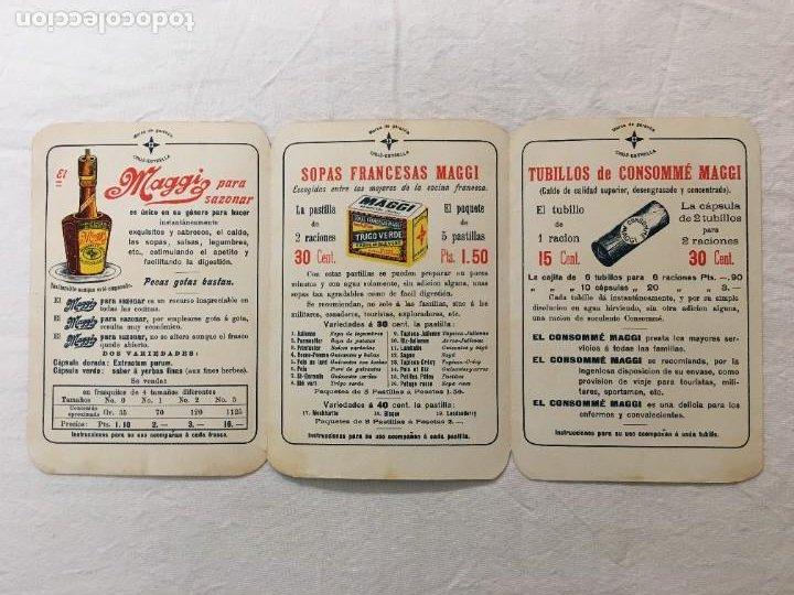 Coleccionismo Papel Varios: Triptico Publicitario. Productos Alimenticios MAGGI. Expo. Universales Paris 1899 y 1900. - Foto 2 - 287742528