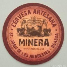 Outros artigos de papel: POSAVASOS CERVEZA MINERA (ESPAÑA). Lote 287919743