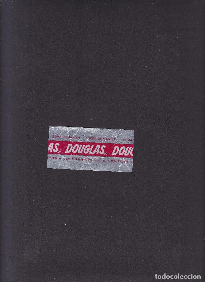 Coleccionismo Papel Varios: DOUGLAS - G-1 - ENVOLTORIO GOMA DE MASCAR / TUTTI.FRUTTI N. F. 615 - Foto 2 - 288171793
