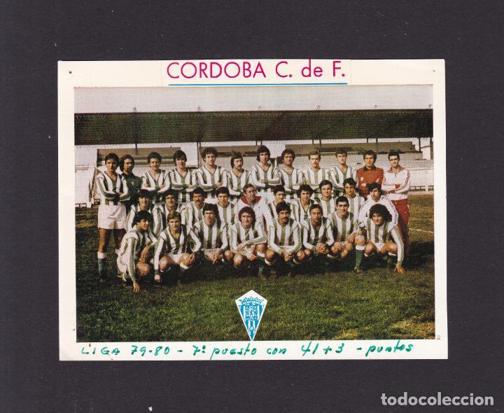 FUTBOL - CORDOBA C. DE F. - MONTAJE AÑOS 80 (Coleccionismo en Papel - Varios)