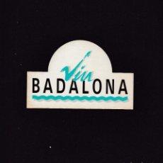Coleccionismo Papel Varios: ADHESIVO - VIU BADALONA / SIN FECHA NI MARCA. Lote 288194318