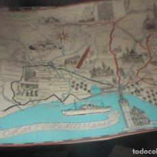 Altri oggetti di carta: PLANO DIBUJOS FRANCISCO FONTANALS 1963 - VALENCIA .CHELVA,LIRIA,ONTENIENTE,SILLA,MONTESA,ALCIRA. Lote 288326223