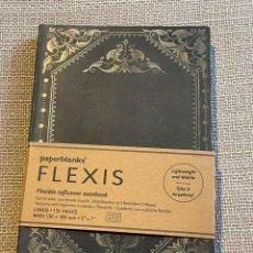 Collectionnisme Papier divers: CUADERNO LIBRETA NUEVA PAPERBLANKS FLEXIS CON 176 PAGINAS (13 X 18 CM). Lote 288682648