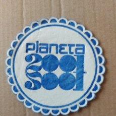 Coleccionismo Papel Varios: 9 CM POSAVASOS REDONDO PAPEL LOCAL BAR PUB PLANETA 2001 DISCOTECA DISCOTHEQUE SALA. Lote 288968158