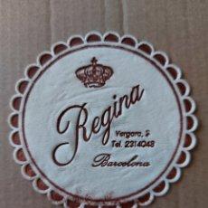 Coleccionismo Papel Varios: 9 CM POSAVASOS REDONDO PAPEL LOCAL RESIDENCIA HOTEL REGINA BARCELONA ESTADO EN GENERAL COMO SE VE. Lote 288975588