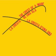 Coleccionismo Papel Varios: LAWRENCE WEINER POSTER. Lote 289739813