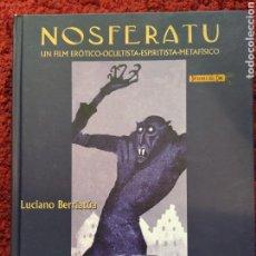 Coleccionismo Papel Varios: NOSFERATU UN FILM ERÓTICO OCULTISTA ESPIRITISTA METAFÍSICO L. BERRIATUA TERROR LIBRO + 2 CD. Lote 290955618