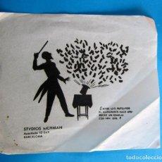 Coleccionismo Papel Varios: MAGIA, ILUSIONISMO. APARICION DEL CONEJO QUE SALE DE LA CHISTERA. ESTUDIOS RICHMAN, MAGO.. Lote 293745248