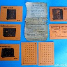 Coleccionismo Papel Varios: JUEGO DE MAGIA Y ADIVINACIÓN. REGALO DE PHONO STUDIO RADIO OHM. APARATOS DE RADIO.. Lote 293760013