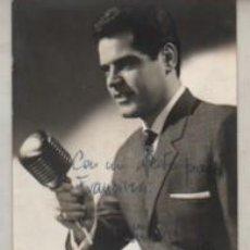 Coleccionismo Papel Varios: AUTOGRAFO DEL CANTANTE VICENTE PASTOR 1962. Lote 293816118