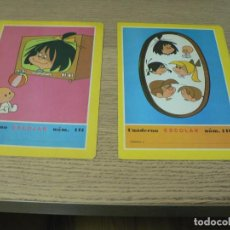 Coleccionismo Papel Varios: CUADERNO ESCOLAR LA FAMILIA TELERIN Nº 140 Y 141. Lote 293879018