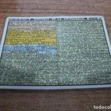 Coleccionismo Papel Varios: FICHA DISTEIN HISTORIA DE LA ANTIGUEDAD 1970. Lote 295394818