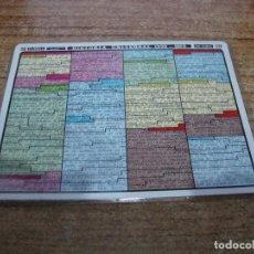 Coleccionismo Papel Varios: FICHA DISTEIN HISTORIA UNIVERSAL 1939 1970 1971. Lote 295394878