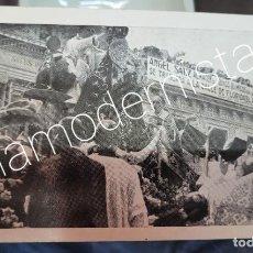Coleccionismo Papel Varios: ANTIGUA TARJETA PUBLICIDAD ALMACENES SANZ MURCIA CORONACION VIRGEN DE LA FUENSANTA. Lote 295899083