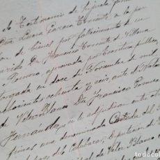 Coleccionismo Papel Varios: VELEZ RUBIO ALMERIA 1915 DOCUMENTO MANUSCRITO. Lote 295920158