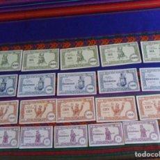 Coleccionismo Papel Varios: LOTE 20 BILLETE EL BANCO UN DOS TRES 25 100 500 1000 PTS DON CICUTA Y LOS CICUTILLAS VALENTÍN TORMOS. Lote 296576573