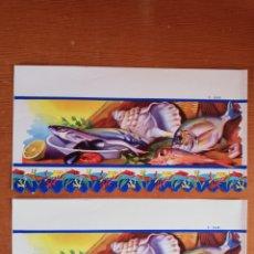 Coleccionismo Papel Varios: CENEFAS ANTIGUAS DE ALACENA.. Lote 296594063