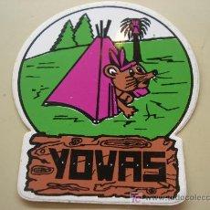Pegatinas de colección: PEGATINA DE YOVAS. Lote 6154844