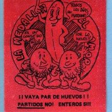 Pegatinas de colección: PEGATINA AÑOS 70 PARTIDOS NO ENTEROS SI. Lote 19875964