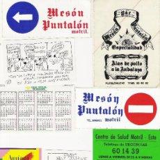Pegatinas de colección: LOTE SURTIDO DE PEGATINAS PUBLICITARIAS---TEMAS DIVERSOS---9 PEGATINAS. Lote 10615773