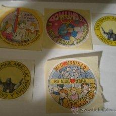 Pegatinas de colección: LOTE DE 5 PEGATINAS RELIGIOSAS. Lote 15437935