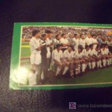 Pegatinas de colección: PEGATINA DE TELEINDISCRETA DEL REAL MADRID AÑOS 80. Lote 27408822