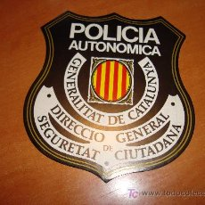 Pegatinas de colección: ADHESIVO PEGATINA POLICIA AUTONÒMICA GENERALITAT DE CATALUNYA. Lote 30803955