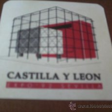 Pegatinas de colección: PEGATINA .PABELLON CASTILLA Y LEON- EXPO-92-SEVILLA. Lote 27597114
