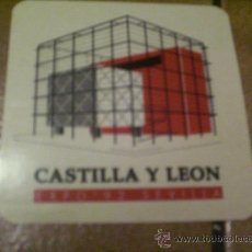 Pegatinas de colección: PEGATINA.. PABELLON CASTILLA Y LEON... EXPO-92 SEVILLA. Lote 22891087