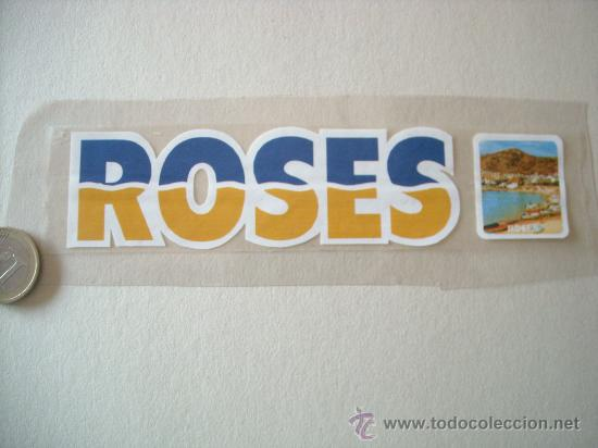 ADHESIVOS - PEGATINAS ROSES (Coleccionismos - Pegatinas)