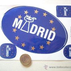 Pegatinas de colección: ADHESIVOS - PEGATINAS MADRID. Lote 22279522