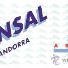 Pegatinas de colección: PEGATINA SKI ARINSAL - ANDORRA . Lote 26185972